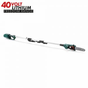 40v Cordless Telescopic Long Reach Chainsaw Lopper
