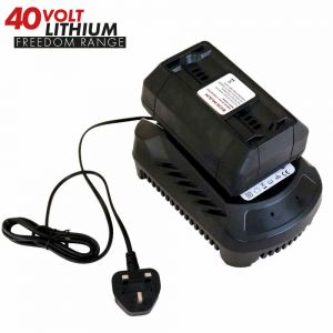 Lithium-Ion 40V Battery & Charger