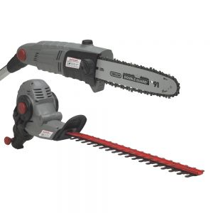 Eckman 2-In-1 Hedge Trimmer & Chainsaw